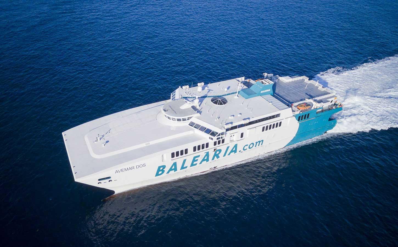 Balearia Avemar Dos fast ferry