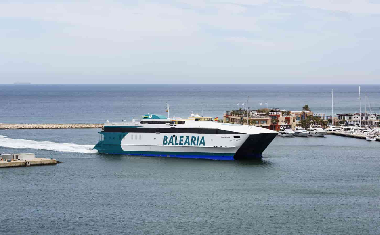 Balearia Cecilia Payne fast ferry