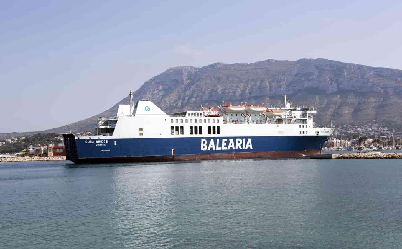 Balearia Duba Bridge ferry