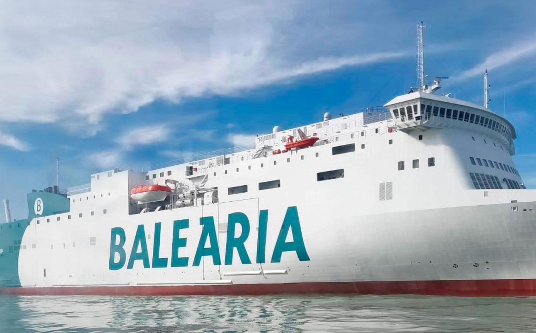 Balearia Hypatia de Alejandría ferry