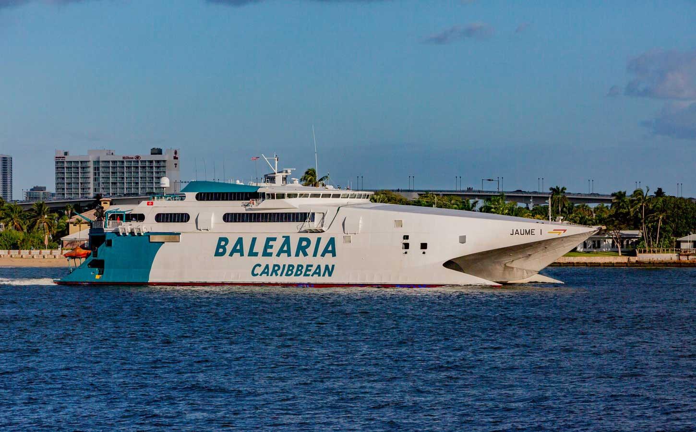 Balearia Jaume I fast ferry
