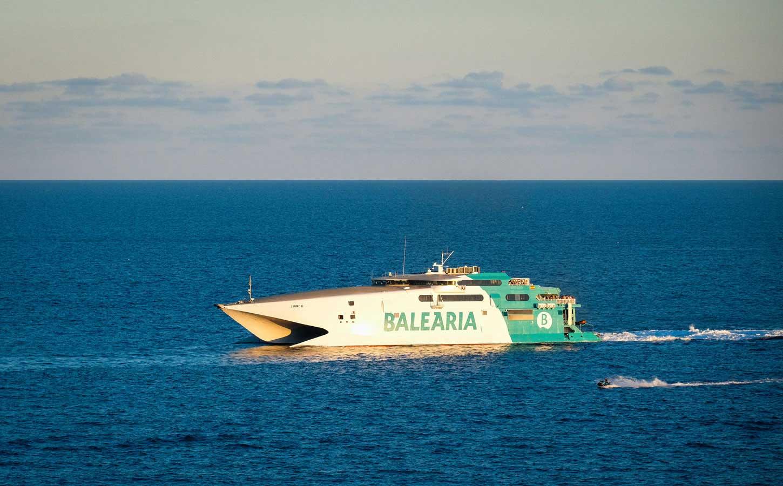 Balearia Jaume II fast ferry
