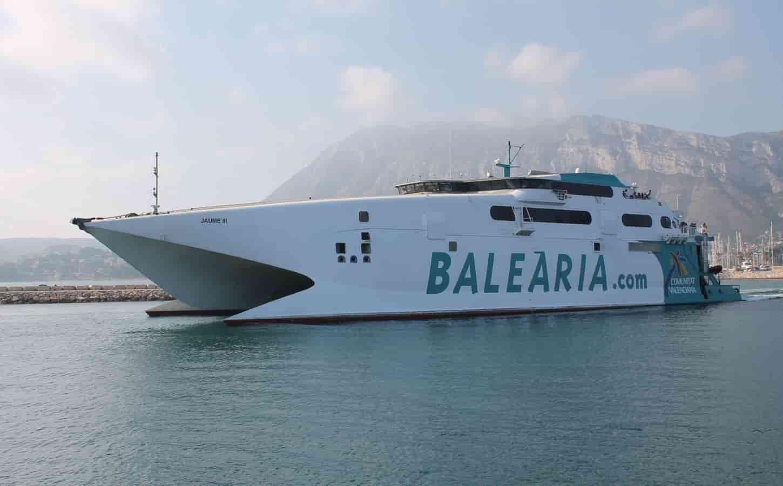 Balearia Jaume III fast ferry