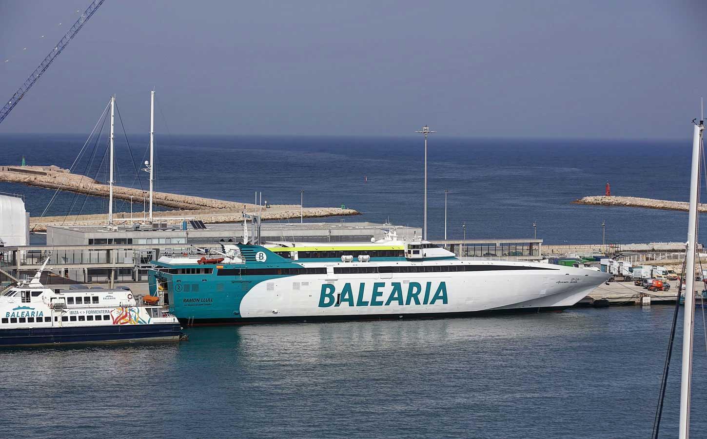 Balearia Ramón Llull fast ferry