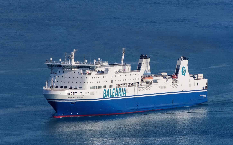 Balearia Rosalind Franklin ferry