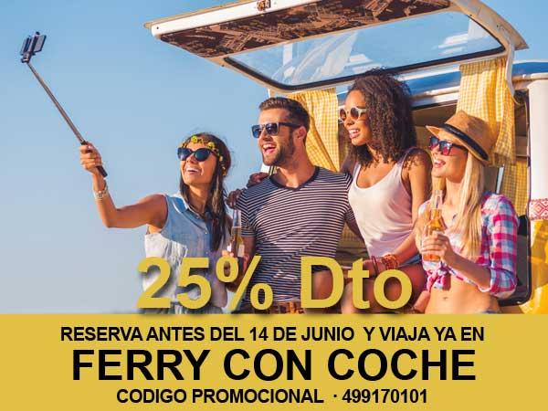 Descuento de 25% en tu coche en la ruta Barcelona a Ibiza este Verano 2020