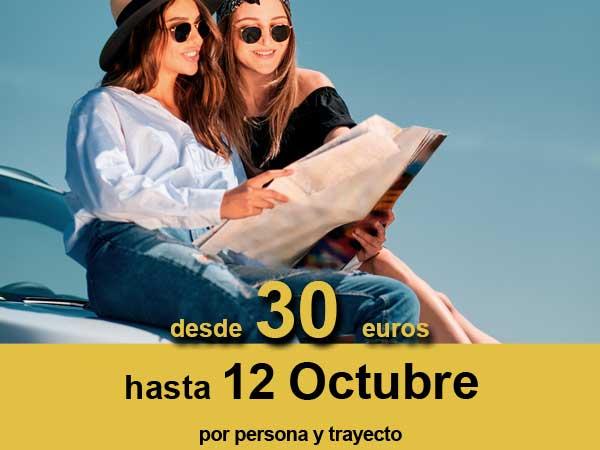 Reserva ya tu oferta en ferry Baleares desde 30 euros con Balearia, por persona y trayecto