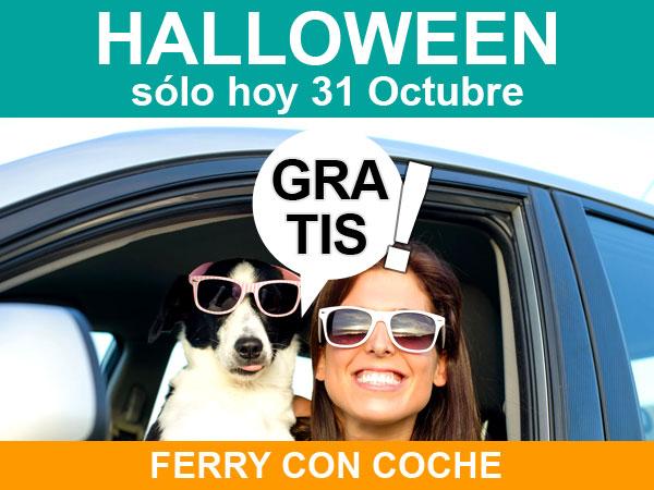 Ferry con coche gratis a Baleares