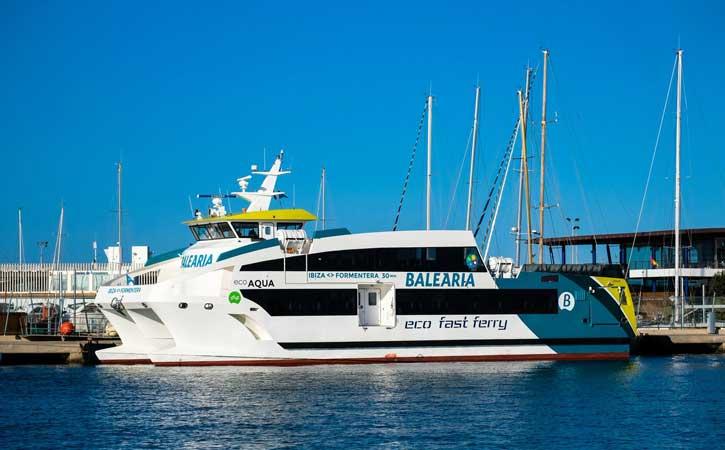 Ferry Formentera Ibiza