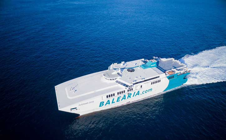 Ferry Ibiza Gandia