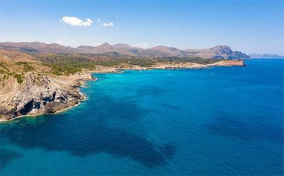 Ferry más hotel Mallorca en Julio en el Hotel Seramar Luna Park en la playa del Arenal en Mallorca