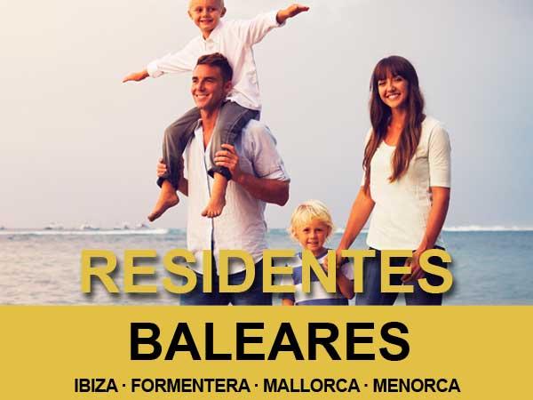 Oferta de billetes de ferry para residentes en las Islas Baleares en Noviembre de 2020