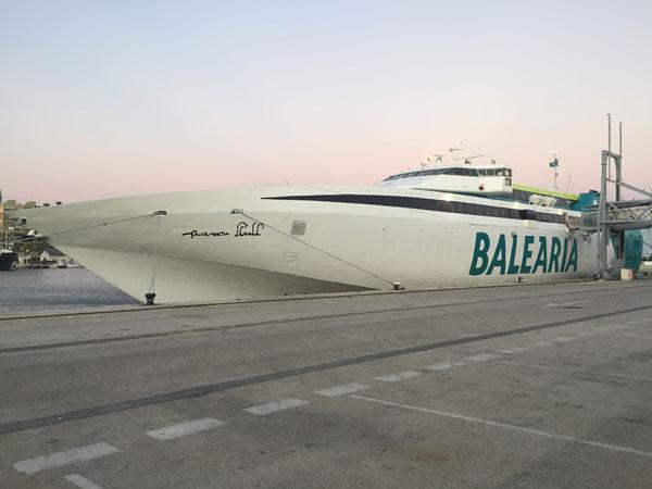 Ofertas en la ruta de ferry Barcelona Ibiza