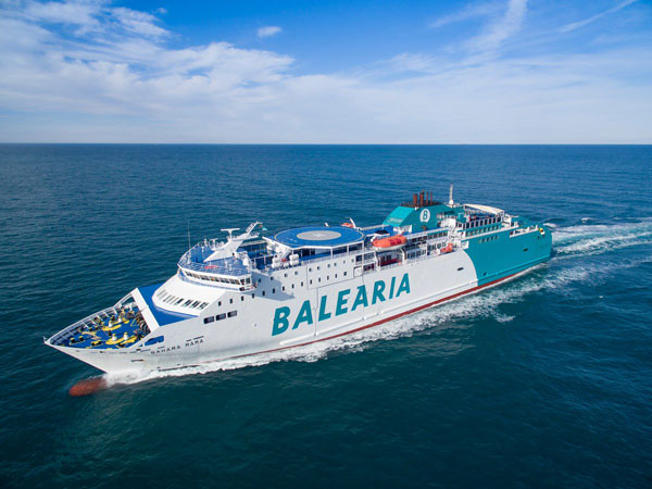 Ofertas en la ruta de ferry Barcelona Menorca